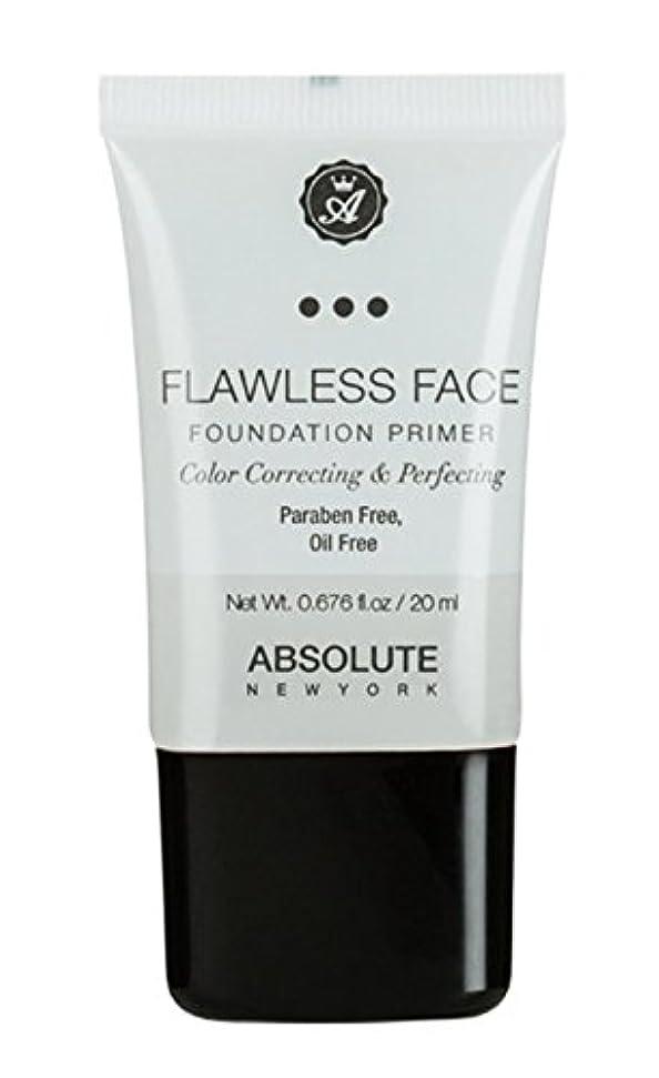 プールバージン反応するABSOLUTE Flawless Foundation Primer - Clear (並行輸入品)