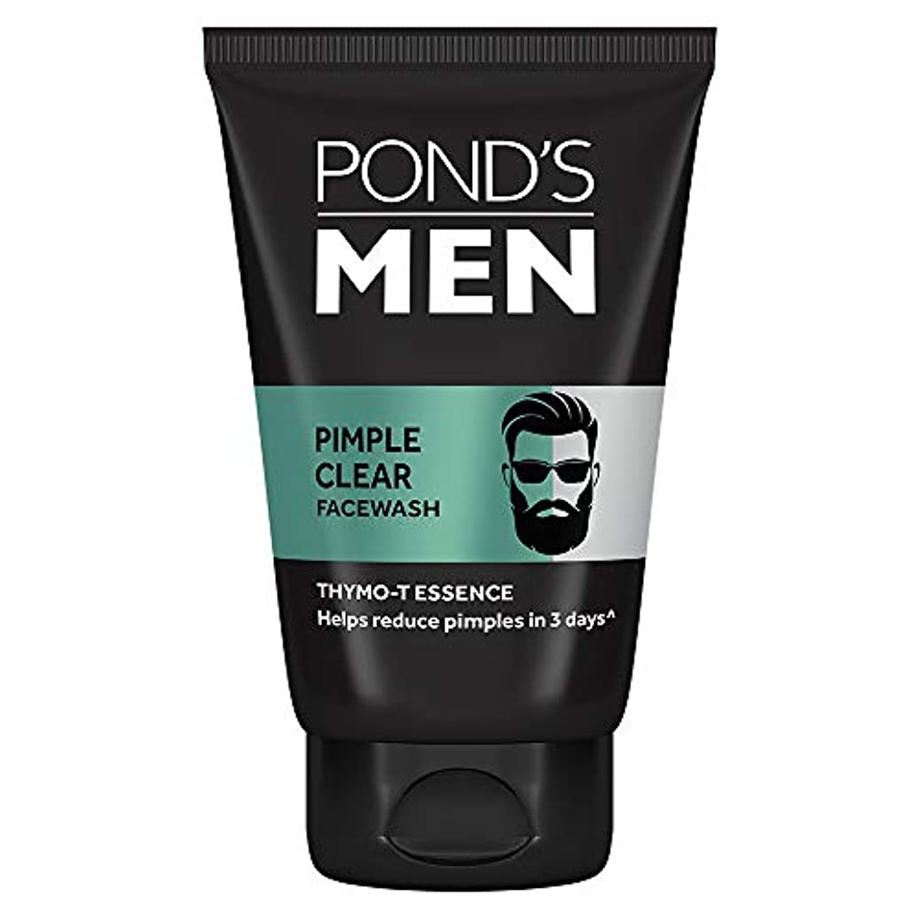 除去四回消費するPond's Men Acno Clear Oil Control Face Wash, 100g