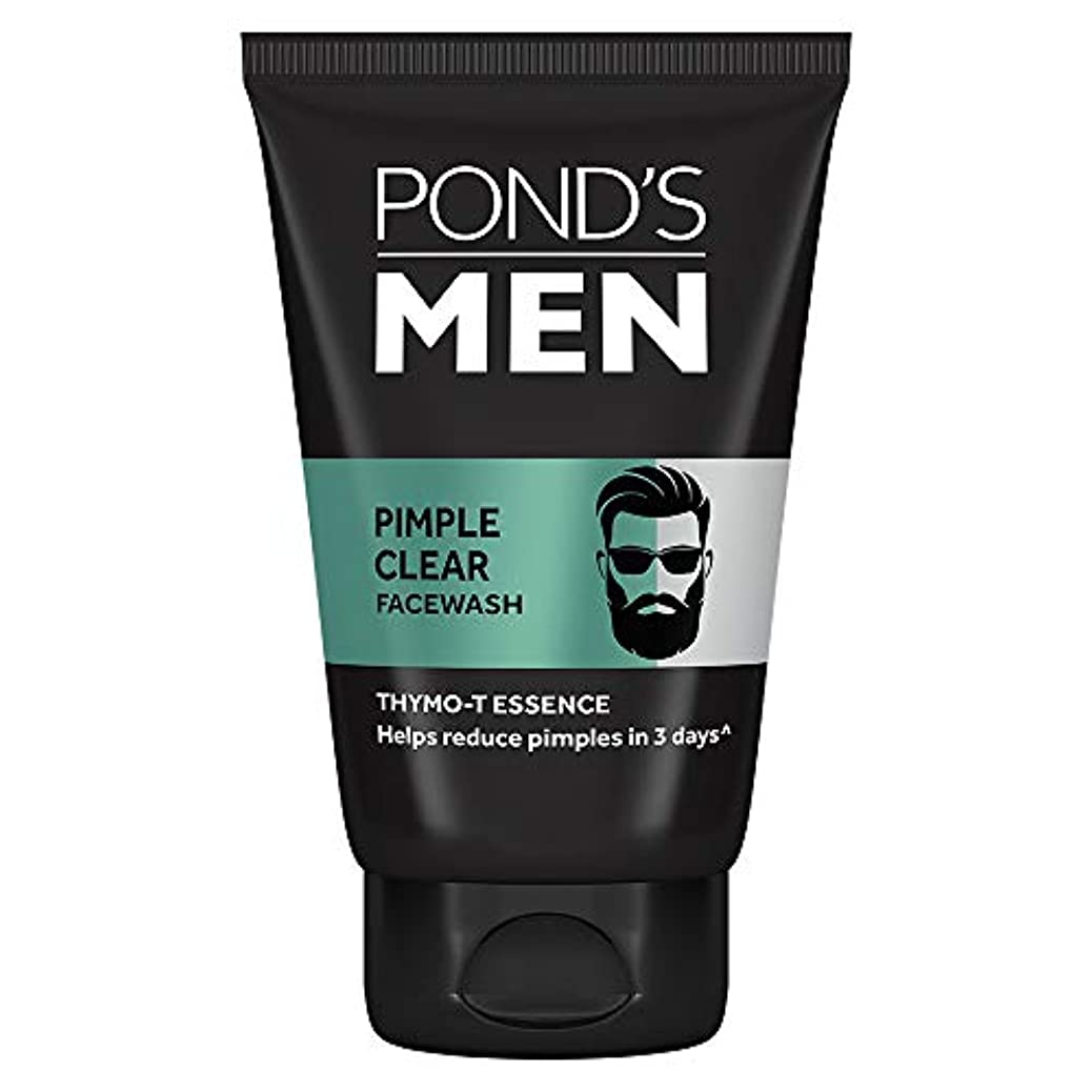 蓄積する政治家の観点Pond's Men Acno Clear Oil Control Face Wash, 100g