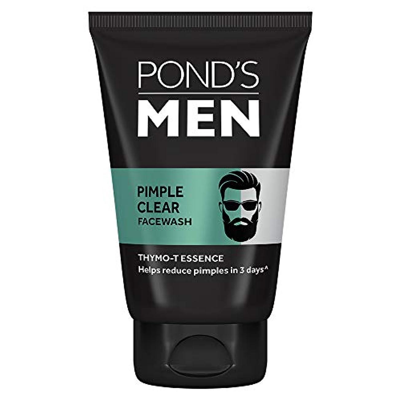 半ば獣助言するPond's Men Acno Clear Oil Control Face Wash, 100g