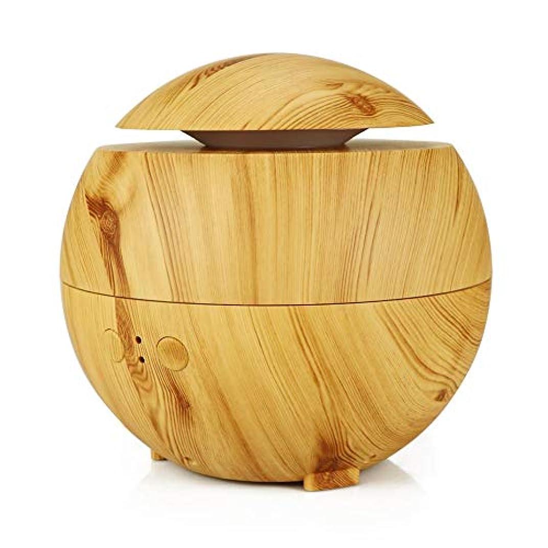 モルヒネノベルティ吸収するアロマ加湿器 超音波式加湿器 アロマディフューザー ABSとPP製 600ml 大容量 シンプル おしゃれ 静音 空焚き防止 耐腐食性 長持ち使える 木目調 Styleshow