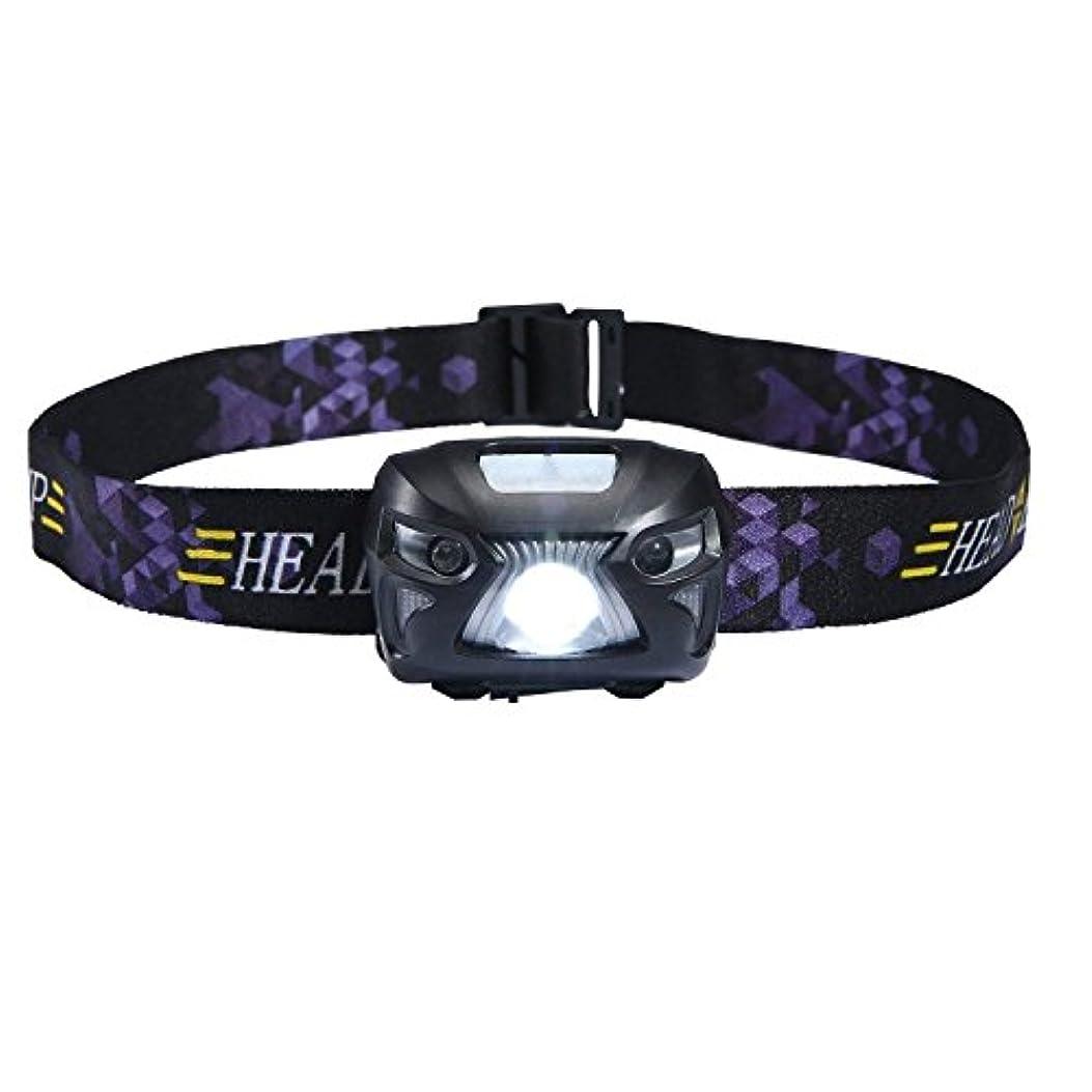 そばに接続スピンTree.NB ヘッドライト LEDヘッドランプ アウトドアライト USB充電式 センサー機能 高輝度 小型軽量 超強力200ルーメン 防水 6つ点灯モード ヘッドライト ネックライト