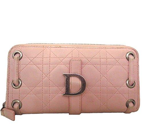 Dior(ディオール)レディディオール レザー ラウンドファスナー長財布