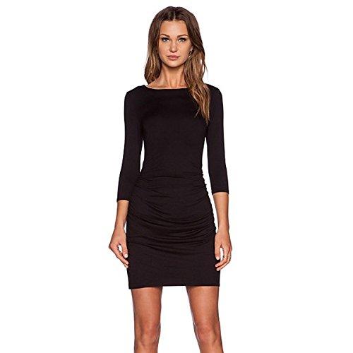 (スリードッツ) three dots レディース ドレス ボディコンドレス スリムドレス 並行輸入品