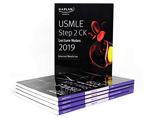 Download USMLE Step 2 CK Lecture Notes 2019: 5-book set (Kaplan Test Prep) 1506236340