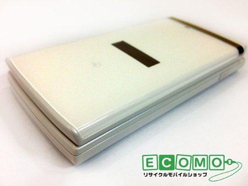 京セラ 携帯電話 au KY006 K006 クリアホワイト 白ロム