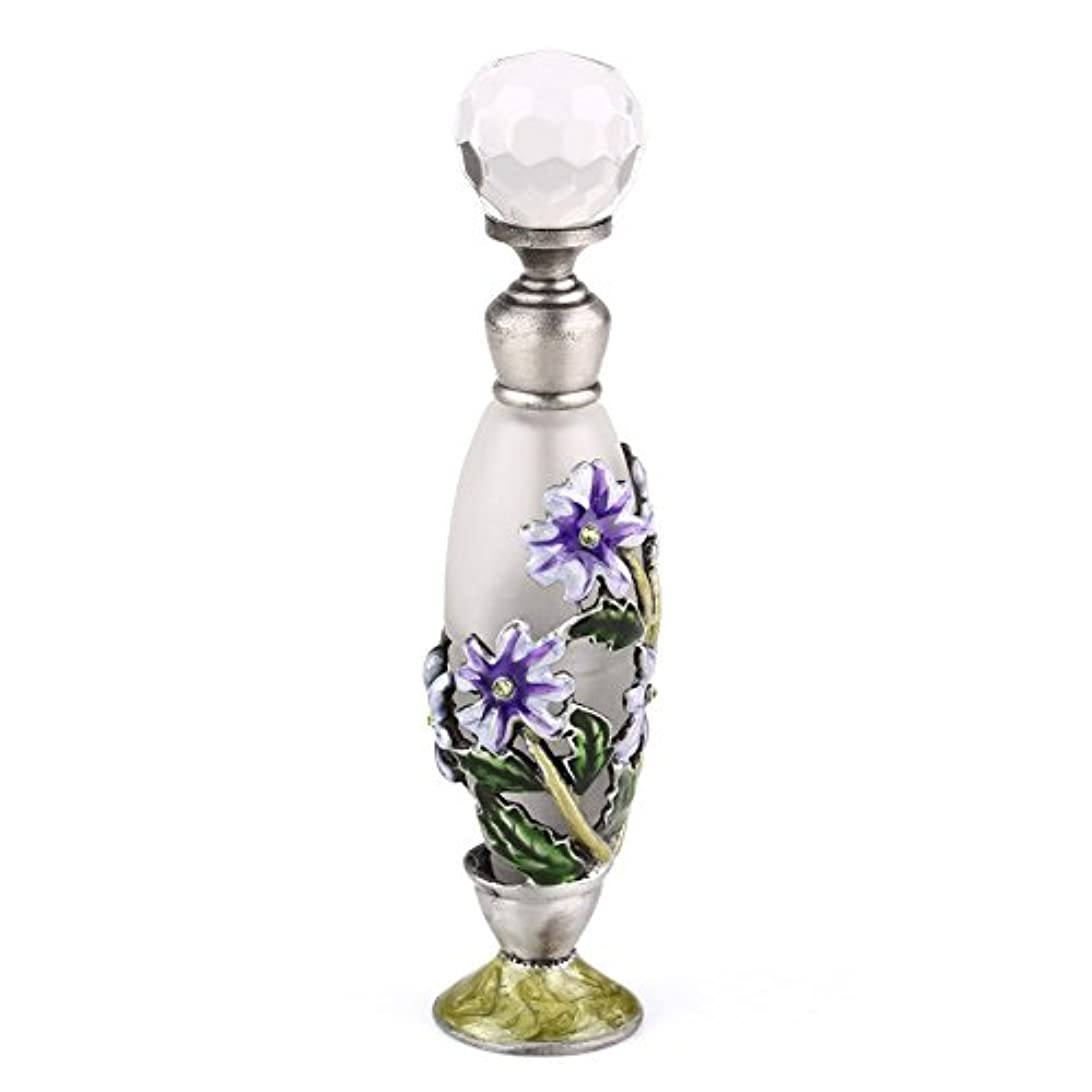 適度な事業内容落とし穴高品質 美しい香水瓶 7ML 小型ガラスアロマボトル フラワー 綺麗アンティーク調欧風デザイン プレゼント 結婚式 飾り
