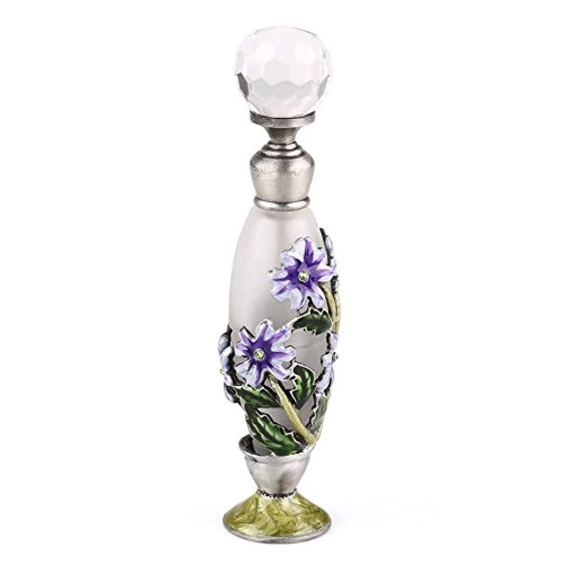 異邦人ドレインみなす高品質 美しい香水瓶 7ML 小型ガラスアロマボトル フラワー 綺麗アンティーク調欧風デザイン プレゼント 結婚式 飾り