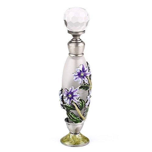 高品質 美しい香水瓶 7ML 小型ガラスアロマボトル フラワー 綺麗アンティーク調欧風デザイン プレゼント 結婚式 飾り
