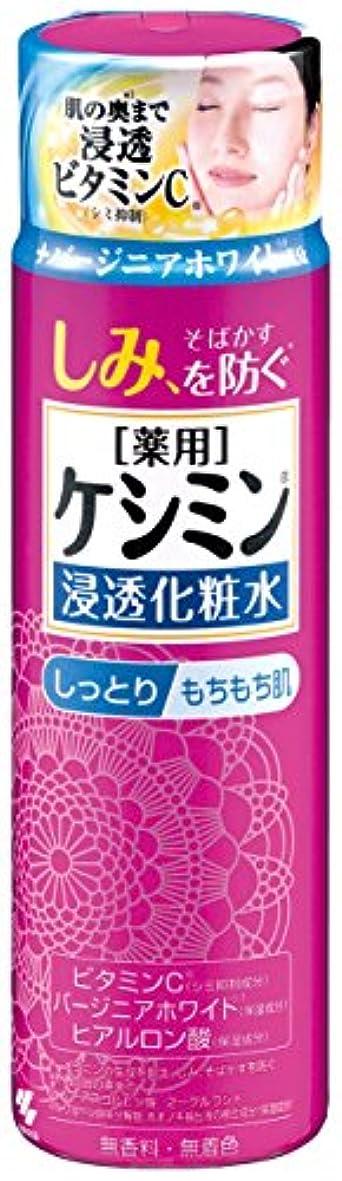 スチュワーデス茎担当者ケシミン浸透化粧水 しっとりもちもち シミを防ぐ 160ml 【医薬部外品】