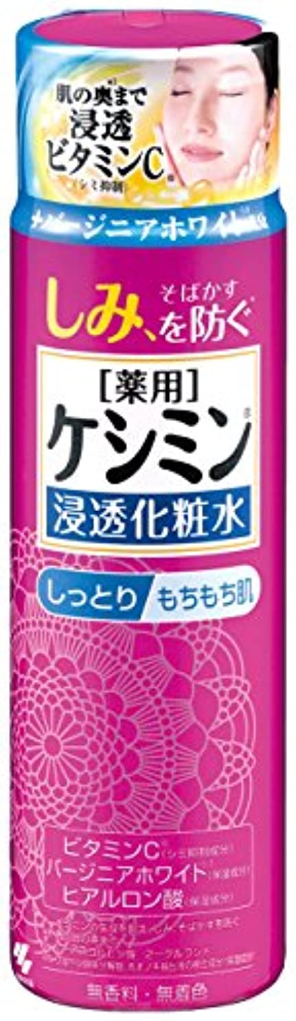 立ち向かう布大臣ケシミン浸透化粧水 しっとりもちもち シミを防ぐ 160ml 【医薬部外品】