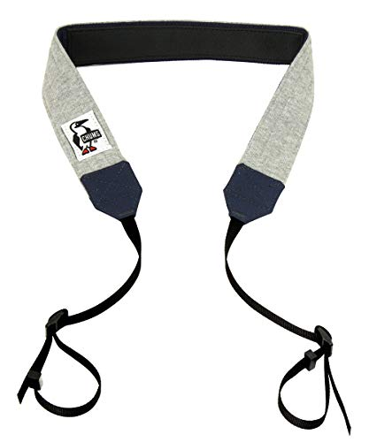 [チャムス] カメラバッグ Camera Strap 3.8 Sweat Nylon H-Gray/Basic Navy One Size