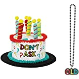 Old Age ユーモア誕生日ギフトパーティーバンドル - 「OLDÓ Light Up Necklace and a