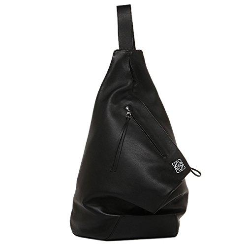 (ロエベ) LOEWE ロエベ バッグ LOEWE 307 10 J87 1100 アントン ANTON BACKPACK ショルダーバッグ BLACK [並行輸入品]