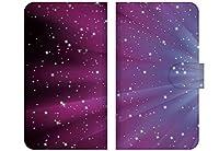 Docomo Galaxy ギャラクシー Feel SC-04J 専用 手帳型 ケース スタンド機能 星 宇宙 13