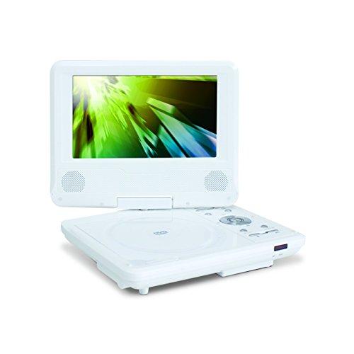 EAST 乾電池式7インチポータブルDVDプレーヤー DVD-...