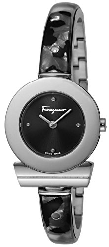 [サルヴァトーレ・フェラガモ]Salvatore Ferragamo 腕時計 ガンチーニブレスレット ブラック文字盤 FII010015 レディース 【並行輸入品】