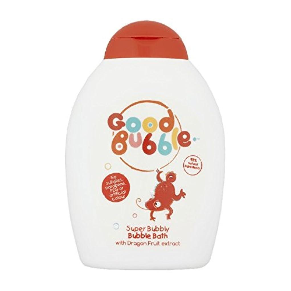 不屈化学輸送良いバブルドラゴンフルーツバブルバス400ミリリットル - Good Bubble Dragon Fruit Bubble Bath 400ml (Good Bubble) [並行輸入品]