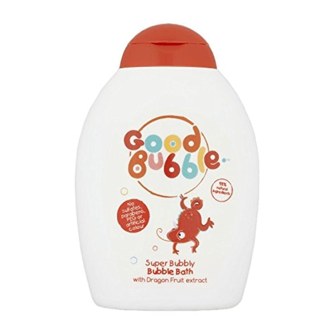 フルーティーエラー億Good Bubble Dragon Fruit Bubble Bath 400ml (Pack of 6) - 良いバブルドラゴンフルーツバブルバス400ミリリットル (x6) [並行輸入品]
