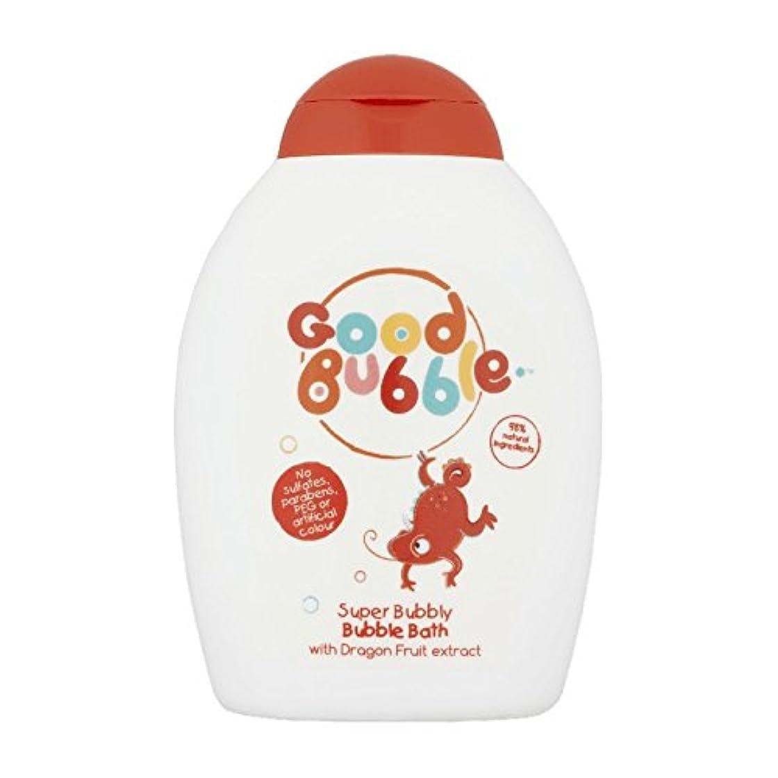 ケージブルジョン交渉するGood Bubble Dragon Fruit Bubble Bath 400ml (Pack of 6) - 良いバブルドラゴンフルーツバブルバス400ミリリットル (x6) [並行輸入品]