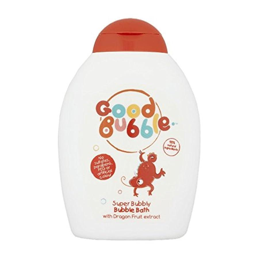 再生可能血まみれフローGood Bubble Dragon Fruit Bubble Bath 400ml (Pack of 6) - 良いバブルドラゴンフルーツバブルバス400ミリリットル (x6) [並行輸入品]
