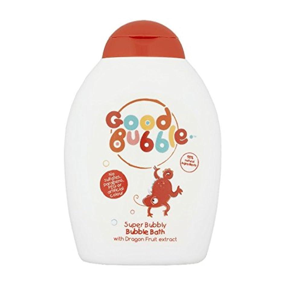死の顎ソファー便利Good Bubble Dragon Fruit Bubble Bath 400ml (Pack of 6) - 良いバブルドラゴンフルーツバブルバス400ミリリットル (x6) [並行輸入品]