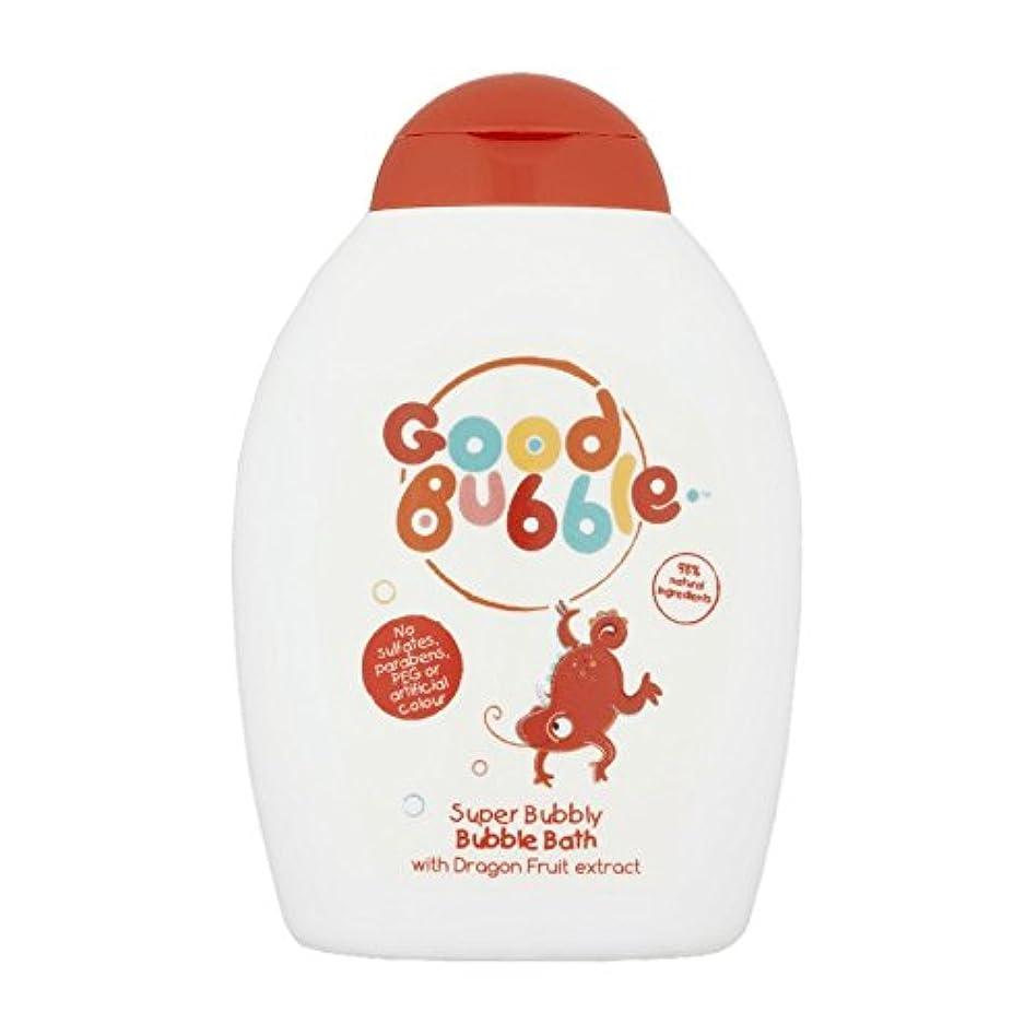 凝視ガイダンス注ぎますGood Bubble Dragon Fruit Bubble Bath 400ml (Pack of 6) - 良いバブルドラゴンフルーツバブルバス400ミリリットル (x6) [並行輸入品]