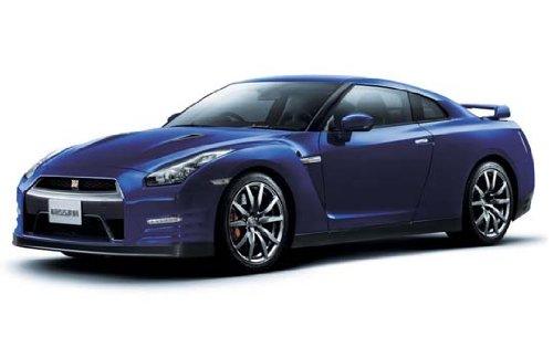 1/24 ザ・ベストカーGTシリーズ No.23 R35 GT-R ピュアエディション 2012モデル エンジン付