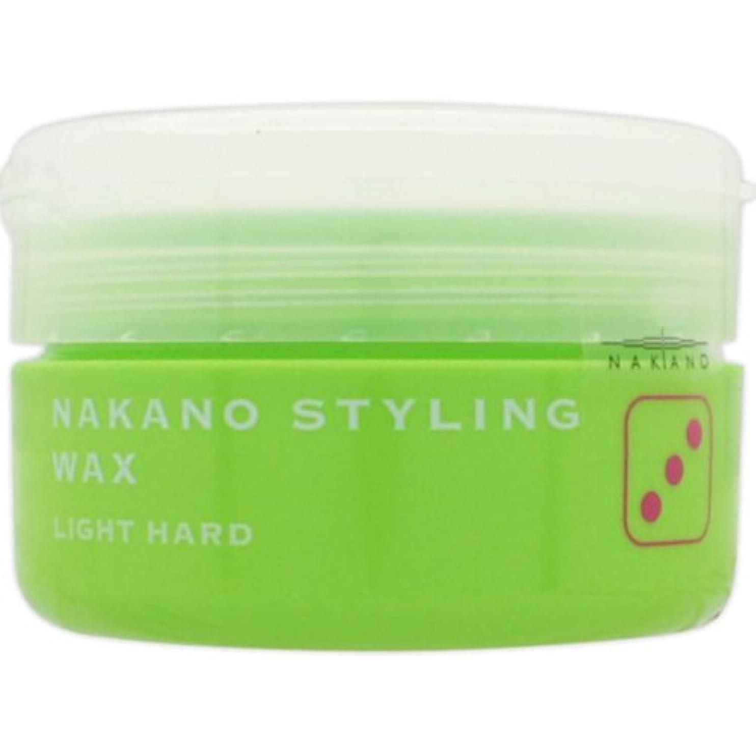パリティ順番めまいナカノ スタイリングワックス 3 ライトハード 90g 中野製薬 NAKANO [並行輸入品]