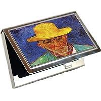 Portraitの忍耐Escalier、Shepherd in Provence by Vincent Van Goghビジネスカードホルダー