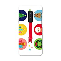 Galaxy S9+ SCV39 ギャラクシー S9+ ギャラクシー S9プラス Samsung サムスン au エーユー スマホカバー カバー ケース pc ハードケース サンタ クリスマス 星 009448