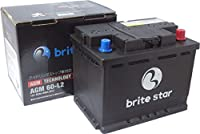 Brite Star ブライトスターバッテリー 輸入車用 AGM 60-L2 アイドリングストップ車、充電制御車対応