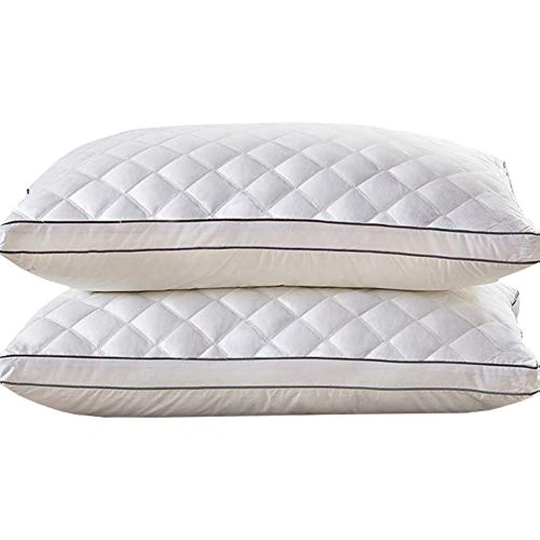 ブラウズブリード乳白枕、シングルネックピロー繊維枕スーパーソフト抗菌、健康的な睡眠