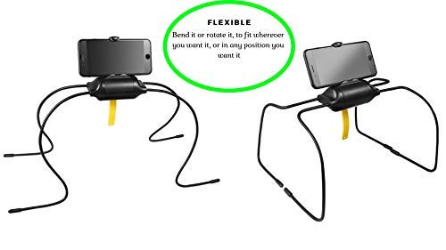 Premium Multi-Angle Tablet & Cell Phone Holder. Portable Stand for Compatible with Any iPhone, IPAD, Android OR Kindle with Adjustable Position and Adaptable Legs