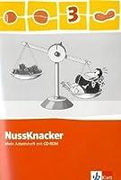 Der Nussknacker. Arbeitsheft mit CD-ROM 3. Schuljahr. Ausgabe 2009: Ausgabe fuer Hamburg, Bremen, Hessen, Baden-Wuerttemberg, Berlin, Brandenburg, Mecklenburg-Vorpommern, Sachsen-Anhalt, Thueringen