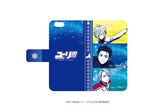 手帳型スマホケース iPhone6/6S専用 ユーリ!!! on ICE 02 キービジュアル