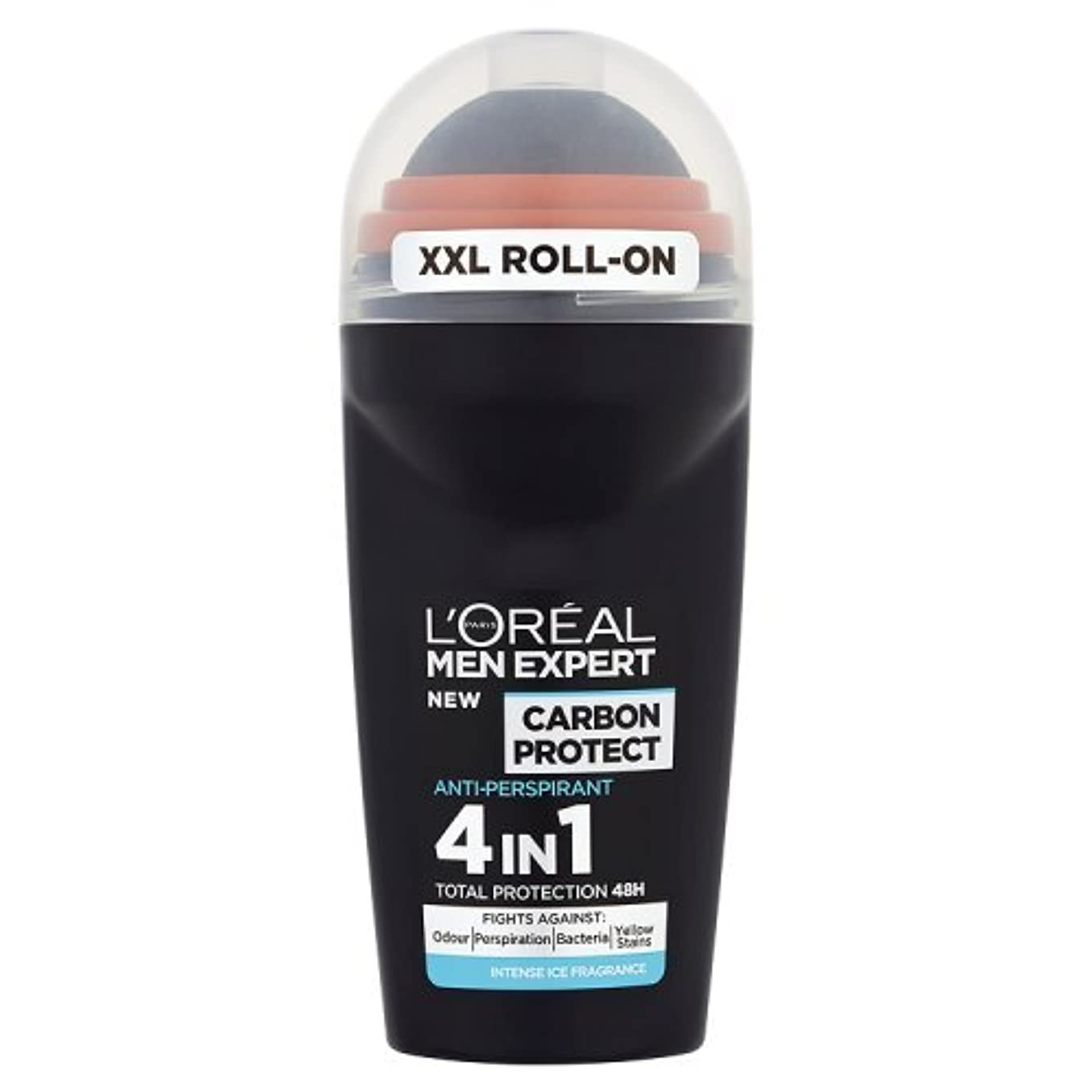 手伝うそこ図書館ロレアル Men Expert Carbon Protect Intense Ice Fragrance Roll On 50ml [海外直送品]