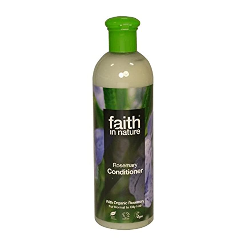安全でない集まる満員自然ローズマリーコンディショナー400ミリリットルの信仰 - Faith in Nature Rosemary Conditioner 400ml (Faith in Nature) [並行輸入品]