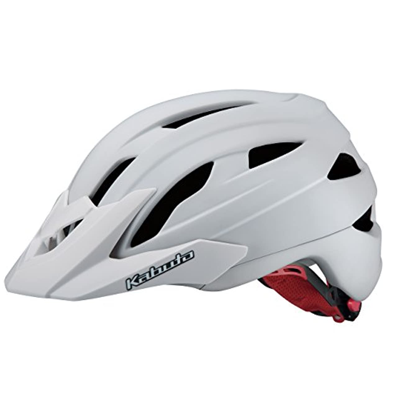壁紙群集ビームOGK KABUTO(オージーケーカブト) ヘルメット FM-8 マットホワイト サイズ:M/L