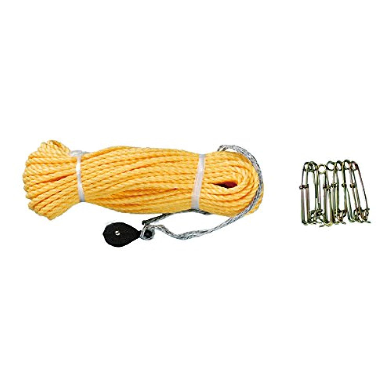 東旭 鯉のぼり ロープ 40m(黄ロープ)
