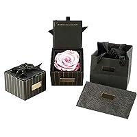 プリザーブドフラワー ローズ バラ ギフトボックス付き 母の日 バレンタインデー 創造的なプレゼント 5色選べる Styleshow