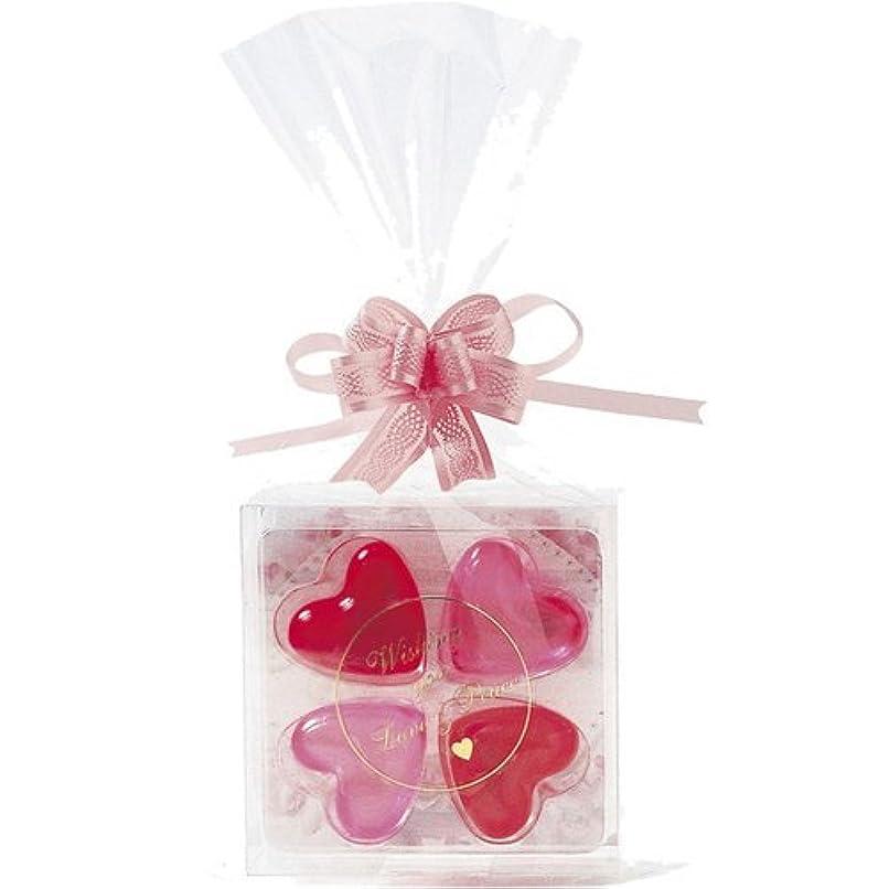 剥離硬化する満足させるジーピークリエイツ フォーチューンクローバー ピンク 入浴料セット(ローズ、シトラス)