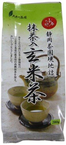 お茶ひとすじ 抹茶入 玄米茶 200g×2