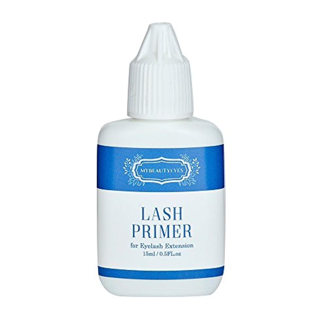 創始者チャップ誠実さまつ毛エクステ用前処理剤 Lash Primer 15ml/まつ毛エクステ用プライマー/エクステ前にタンパク質オイルを落としてエクステの持続力をアップ