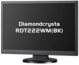 MITSUBISHI ワイド液晶ディスプレイ Diamondcrysta WIDE RDT222WM (BK) ブラック