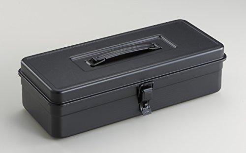 RoomClip商品情報 - TOYO スチール製トランク型工具箱 ブラック T-35BK2