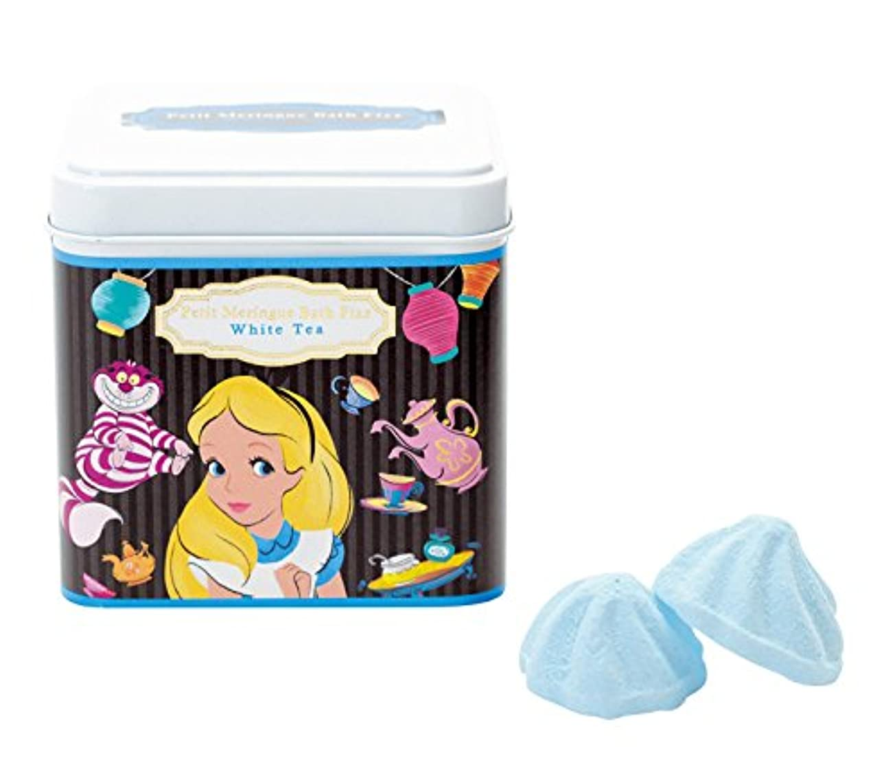 伝染性スクランブル名誉あるディズニー 入浴剤 バスフィズ ふしぎの国のアリス ホワイトティーの香り 135g DIP-86-02