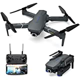 Drone with 4K Camera Live Video,EACHINE E520 WiFi FPV Drone for Adults with 4K HD Wide Angle Camera 1200Mah Long Flight time High Hold Mode Foldable RC Drone Quadcopter