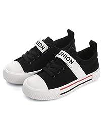 [カタク] スニーカー 子供 ベビーシューズ 女の子 男の子 カジュアルシューズ スポーツシューズ 履きやすい 軽量 通気性 滑り止め 可愛い キッズシューズ 子供用靴 デッキシューズ 3歳-14歳