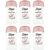 (Pack of 6) Dove Beauty Finish Anti-perspirant Deodorant Stick for Women 6x40ml -(6パック)ドーブ美しさ仕上げ制汗剤デオドラント女性のための...